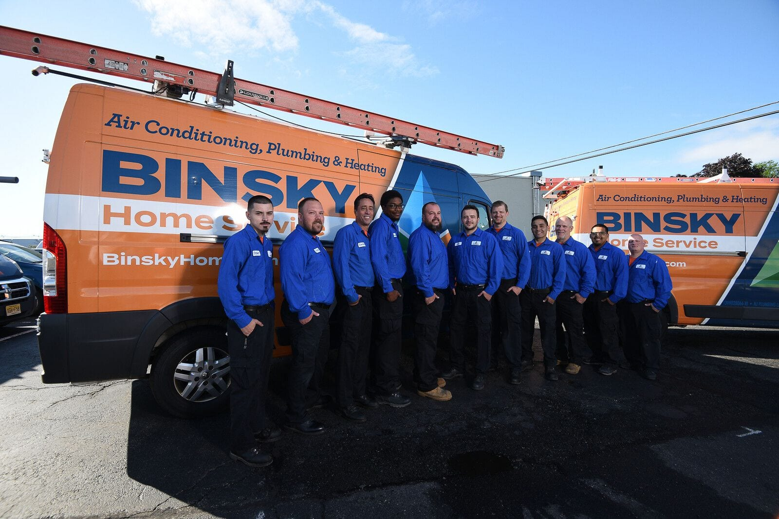 Staff with Truck