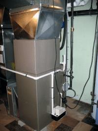 broken condensate pump