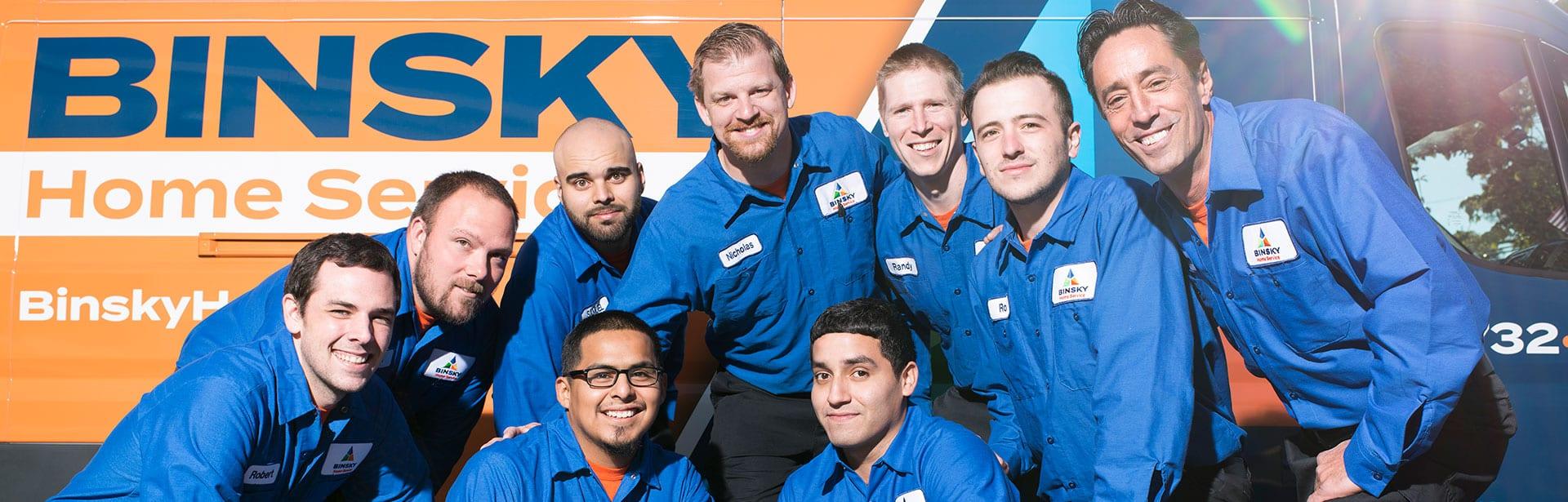 Binsky Home Service. Emergency Services